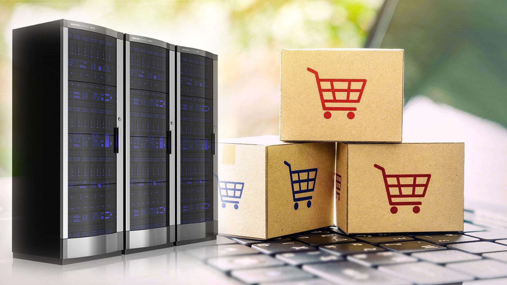 Alojamento E-Commerce